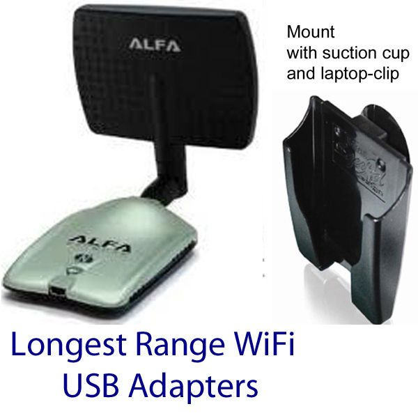 Longest Range WiFi USB Adapters