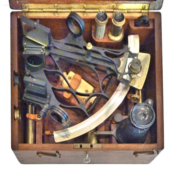 the instrument and all accessories housed its box