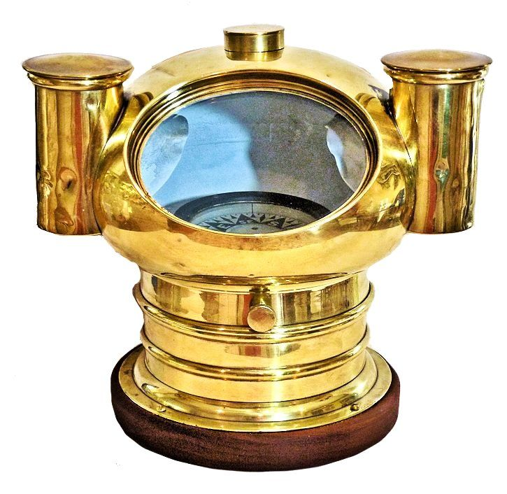 Front view of Bliss Mushroom style binnacle image