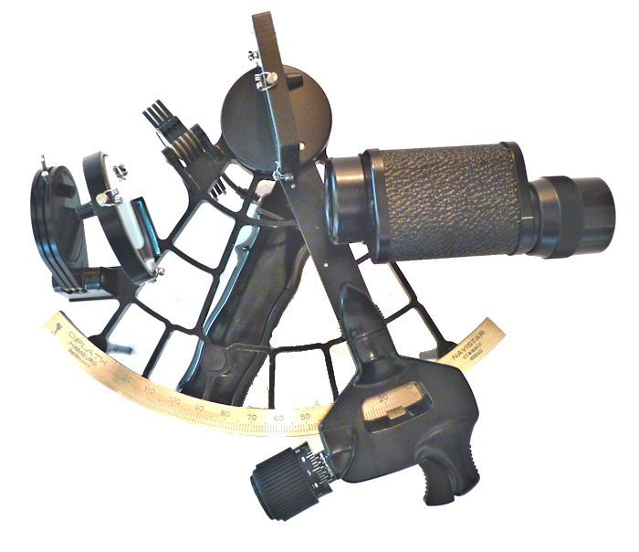 Sextant                                     with 6x30 sun scope mounted image