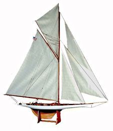 America's Cup Reliance model image