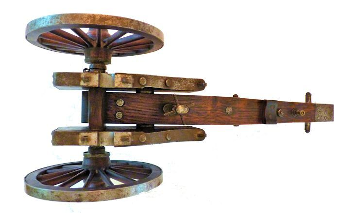 Underside of carriage image