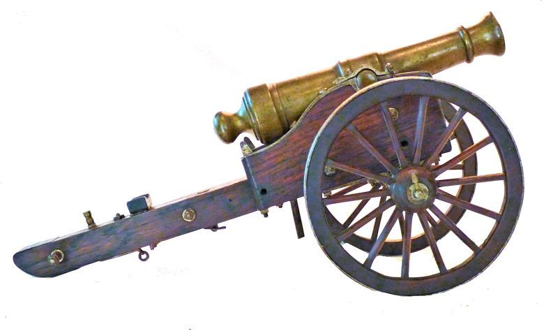 Right side of elevated cannon image
