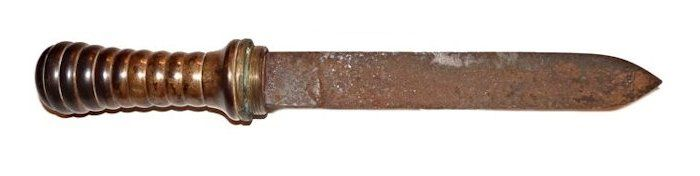 French dive knife obverse image