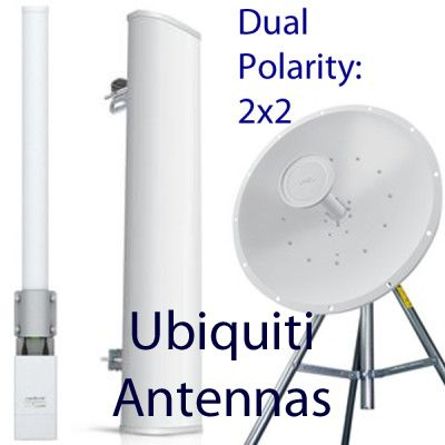 Ubiquiti Dual-Polarity Antennas