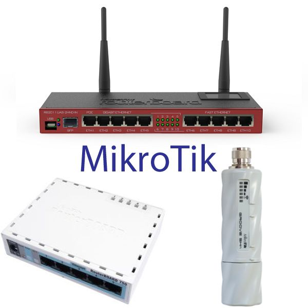 MikroTik Routers, RouterBoards y Switches