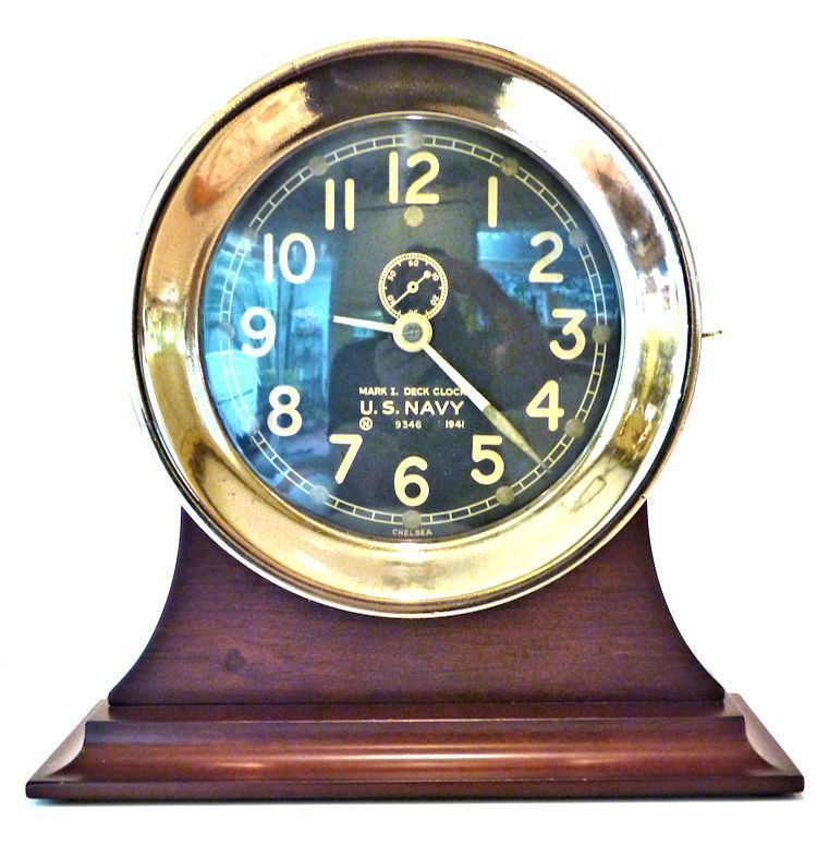 Chelsea MK I Deck clock on stand image