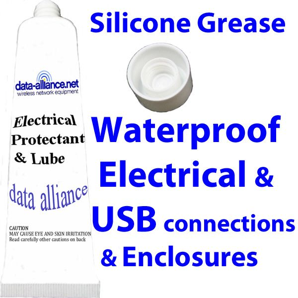 Silicon Grease to waterproof electrical connections