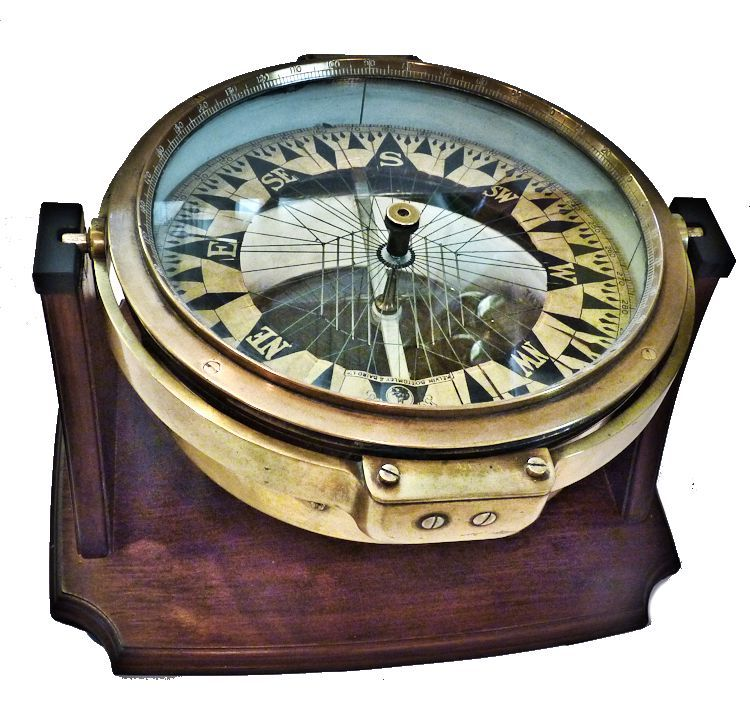 View of                            Threaded Compass Display image