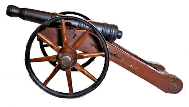 Left side of Revolutionary cannon image