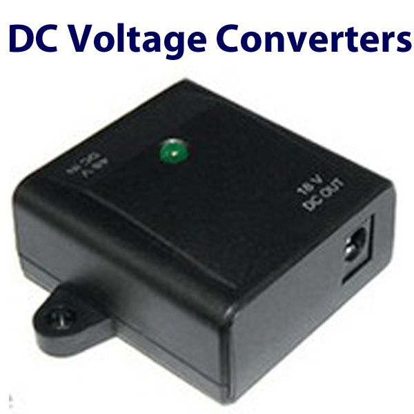 DC Power Converter Voltage Step-Down