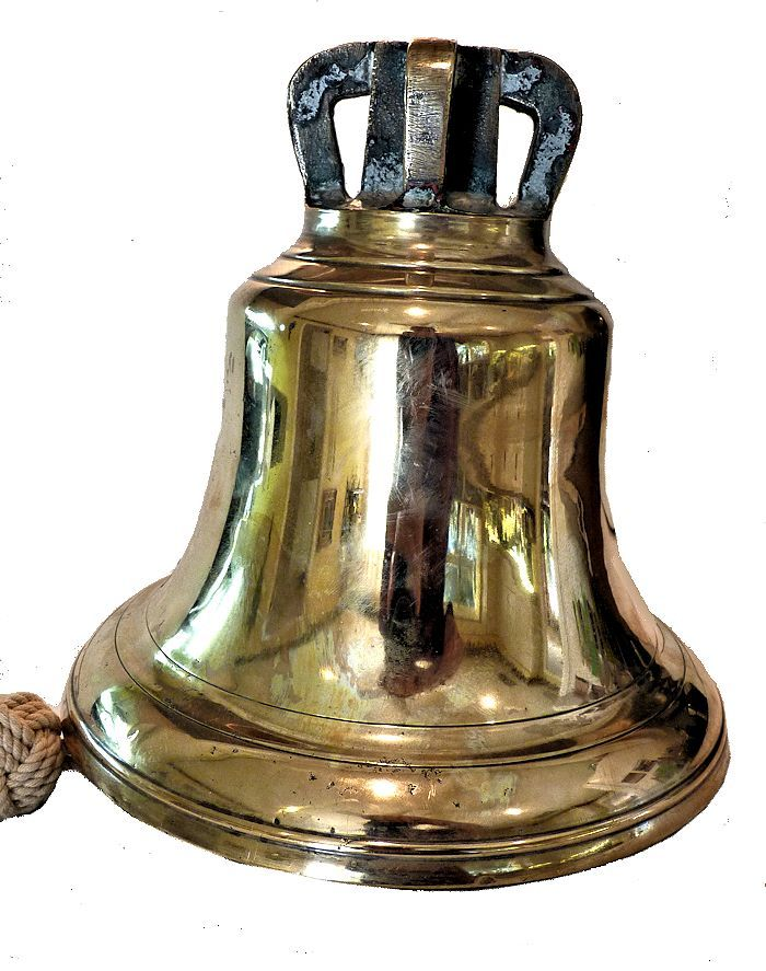 The bell at eye level image