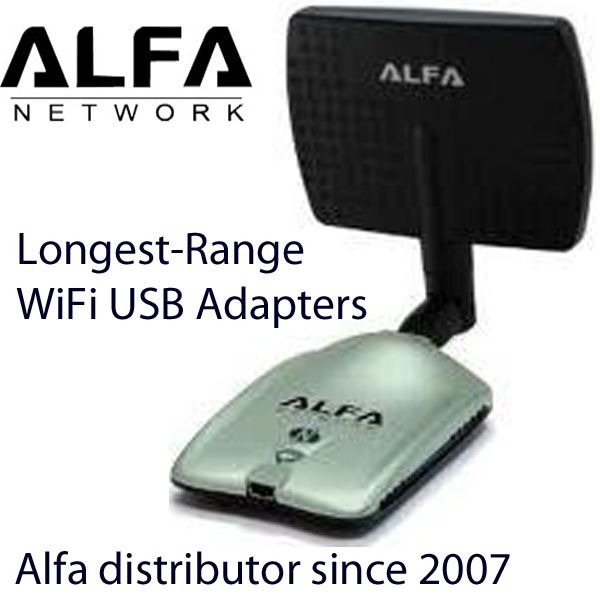 Alfa Longest Range WiFi USB Adapters