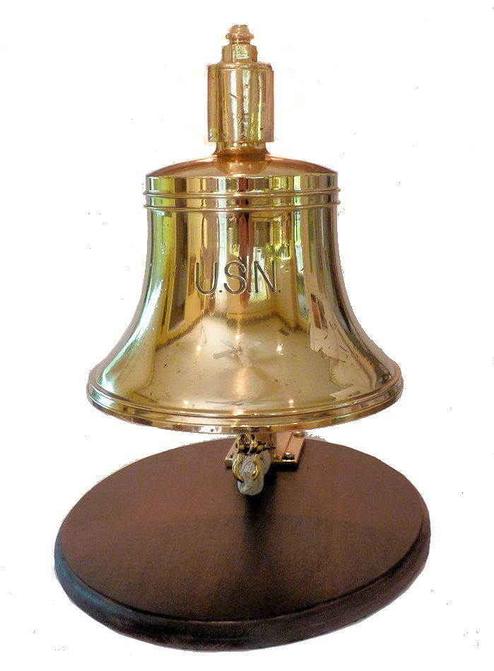 USN early 20th Century foredeck bell image