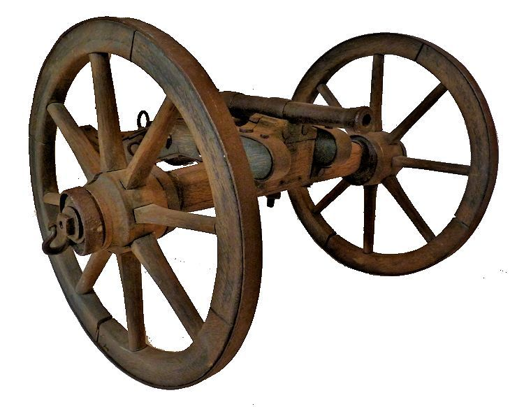 Front of the Civil War Signal Cannon