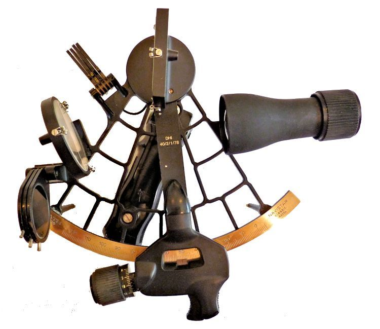1982 Plath Navistar Classic sextant with 4 x0 scope image