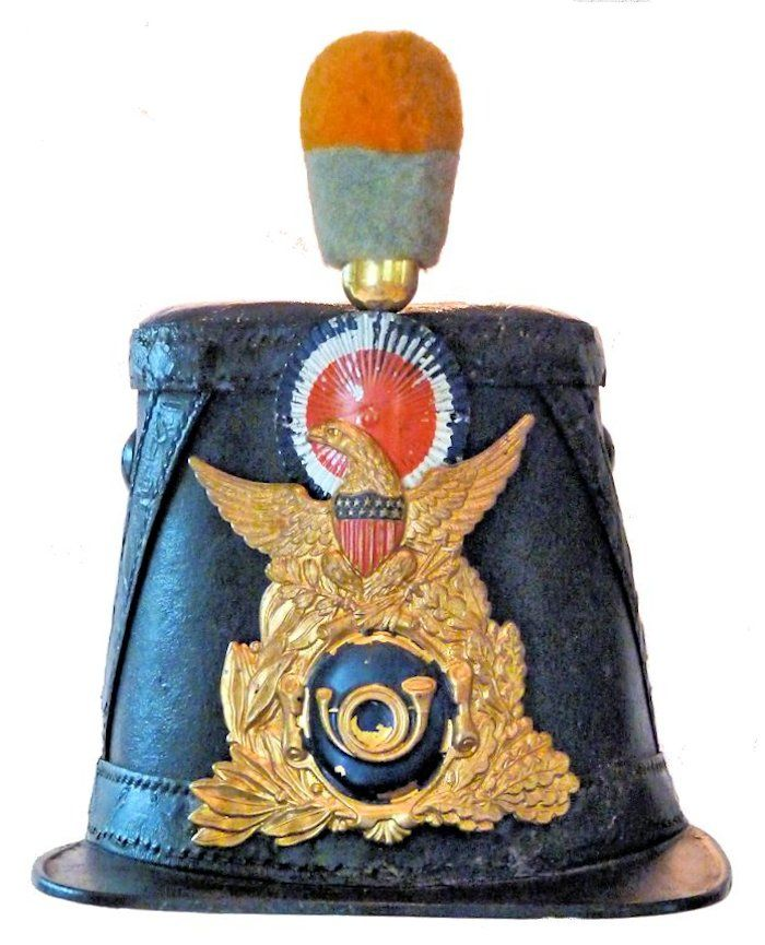 Civil War shako cap image