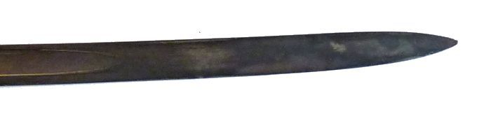 Ames M 1852 obverse blade detail of point image>