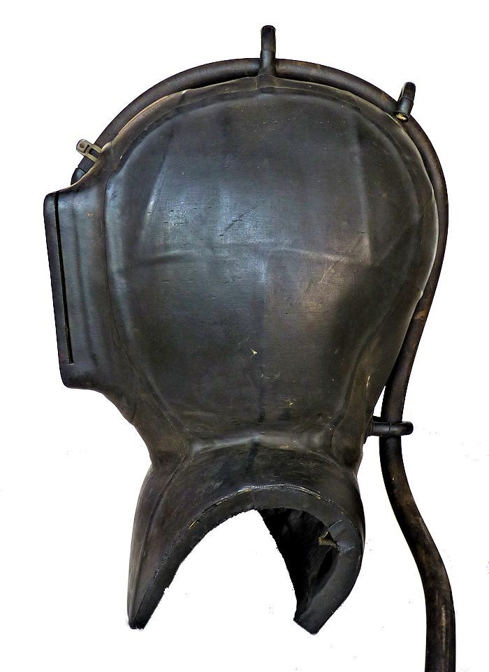 Two side views of the helmet, image