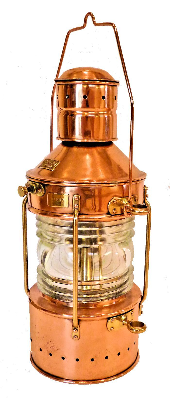Front of all around navigation light by Peters - Bey image