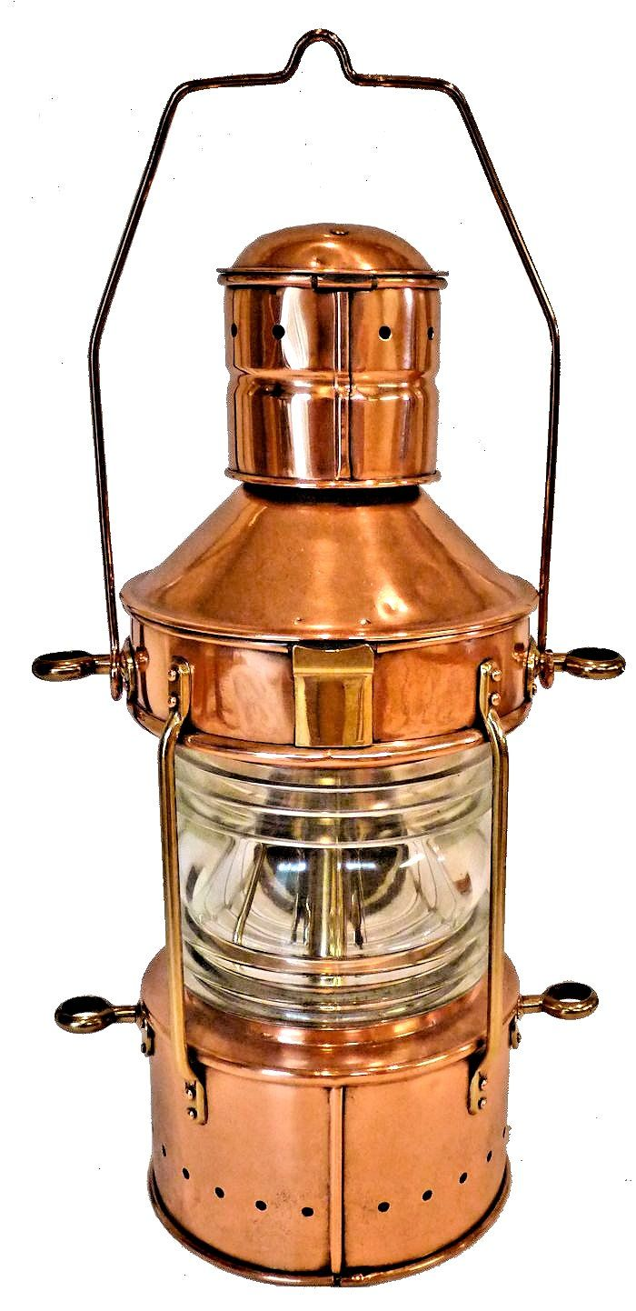 Back of Peters-Bey all around navigation lamp image