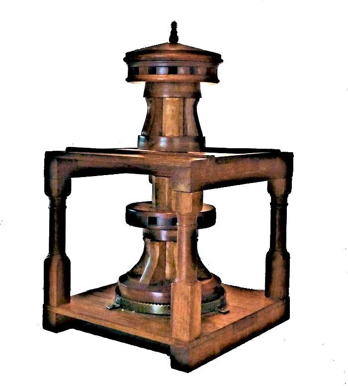 Eyelevel view of double headed capstan model image