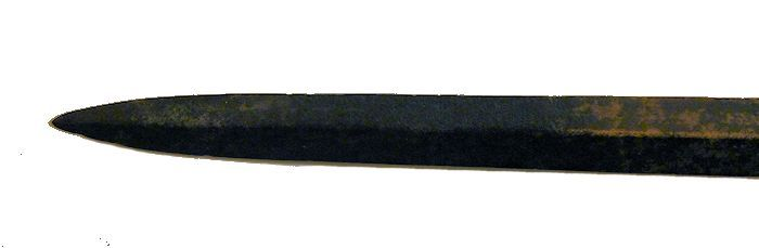 Pointof reverse side of 1st Empire French dirk image