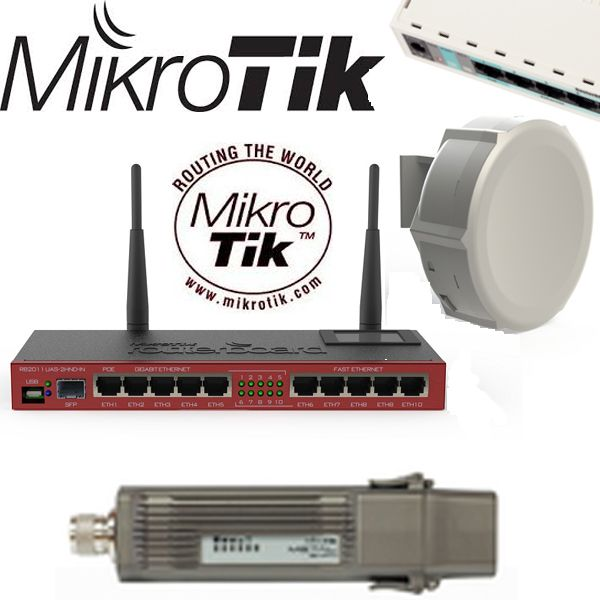 MikroTik Wireless Routers y switches