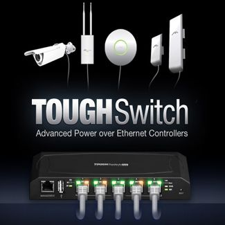 Ubiquiti ToughSwitch POE Gigabit Switch