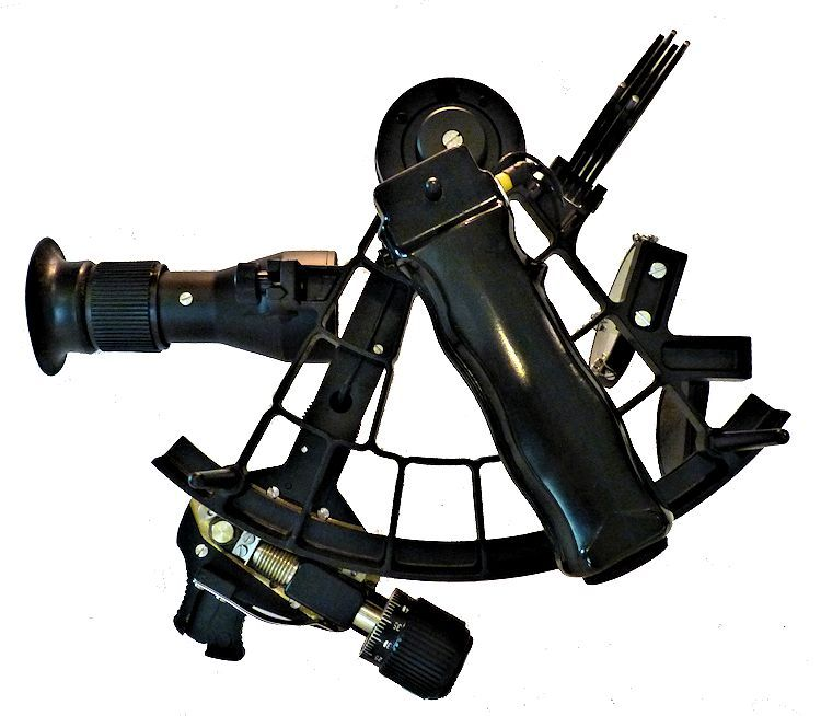 Back of sextant with 4 x 40 scope mounted image