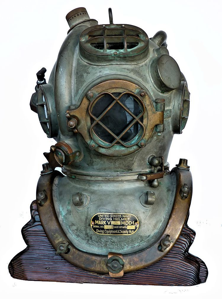 1972 Diving Equipment Salvage Co., Navy MK V Helium Dive Helmet image