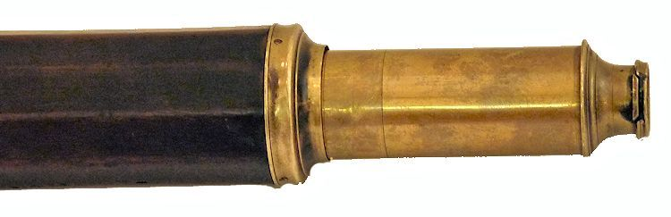 The draw tube of the ten sided marine telescope image