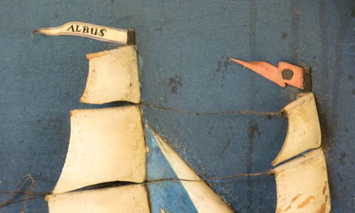 Both pennants of the Ship ALBUS image