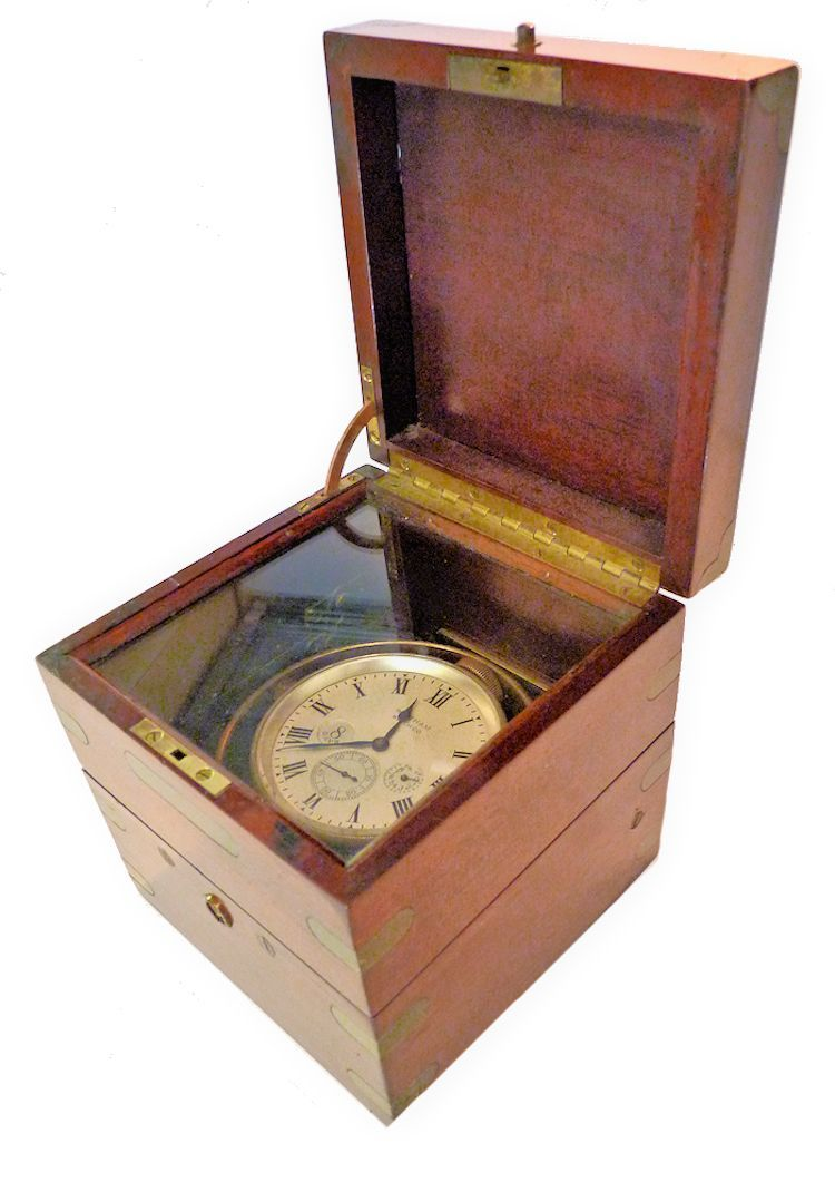 Galley view of Waltahm military-spec chronometer image