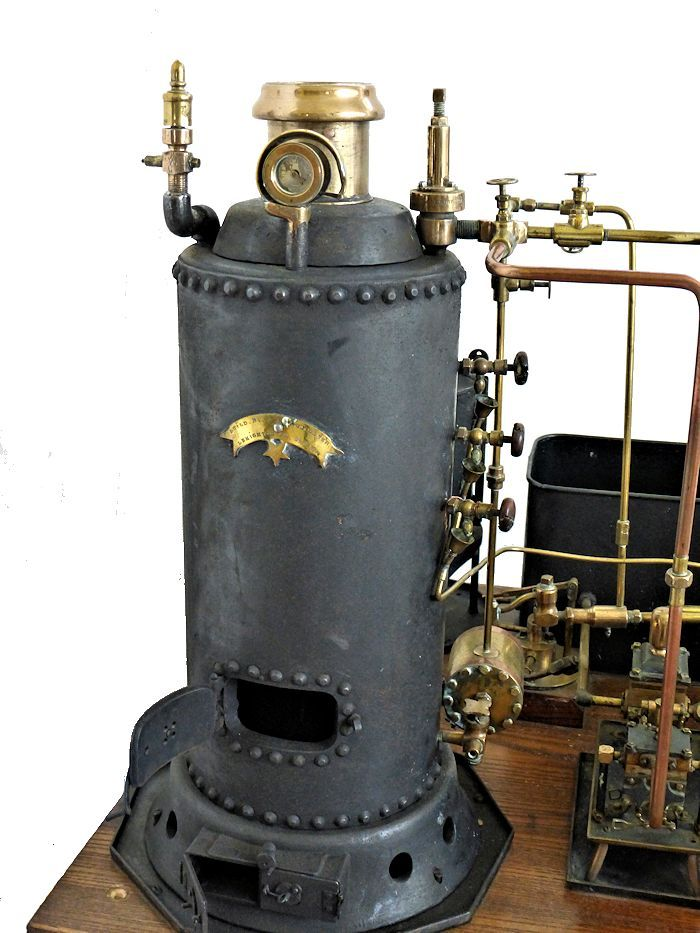 Large coal fired boiler image