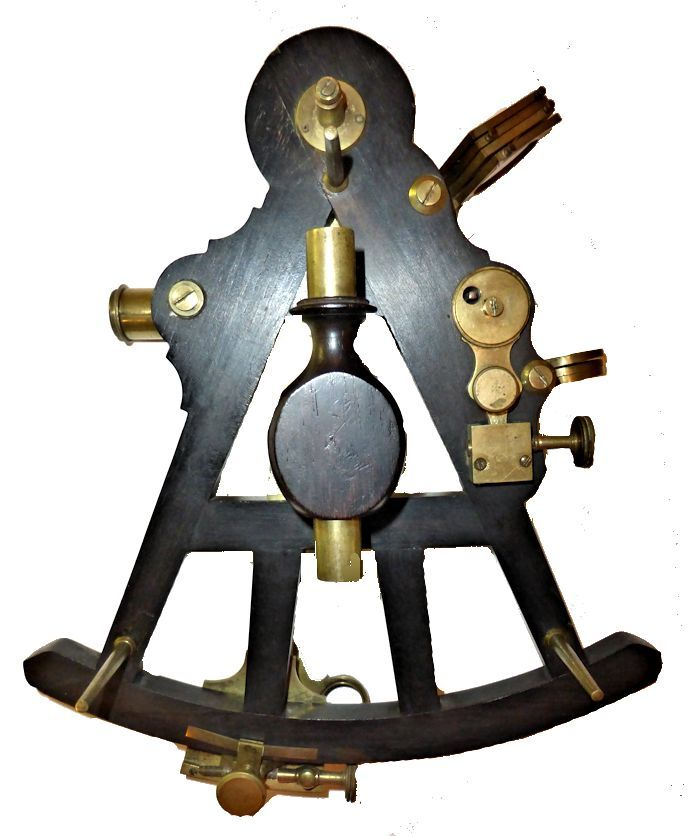 Back of Stalker sextant image