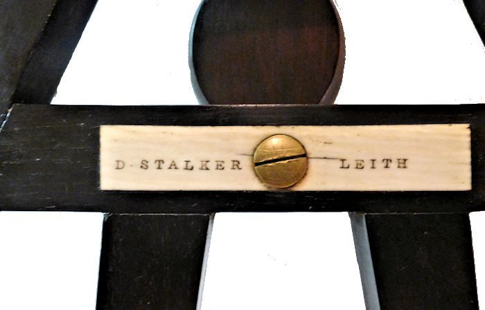 The Stalker's maker's name on the cross bar image