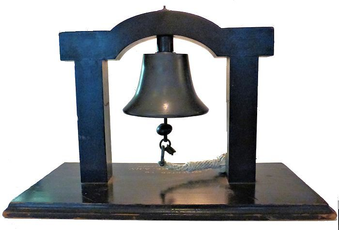 Back view of bell 