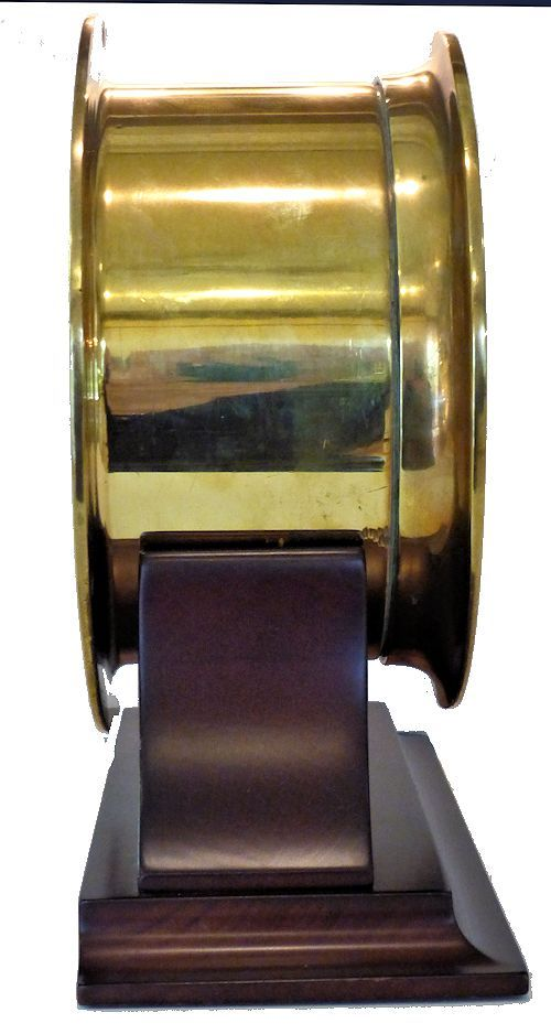Side view of the 12/24 hour striking bell Ingalls clock image