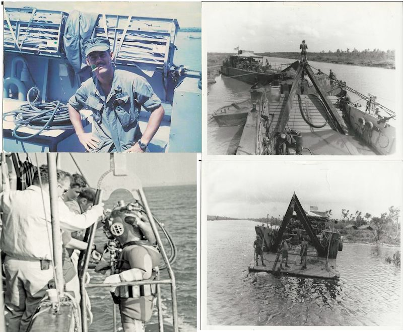Pictures                                     taken while diver was in Vietnam image