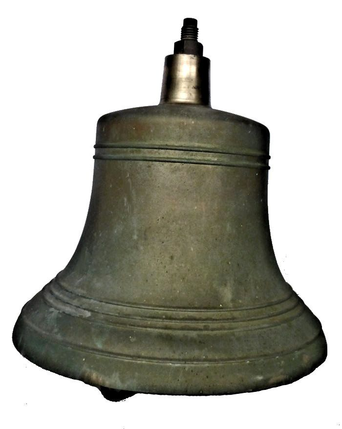 left side of large Navy bell image