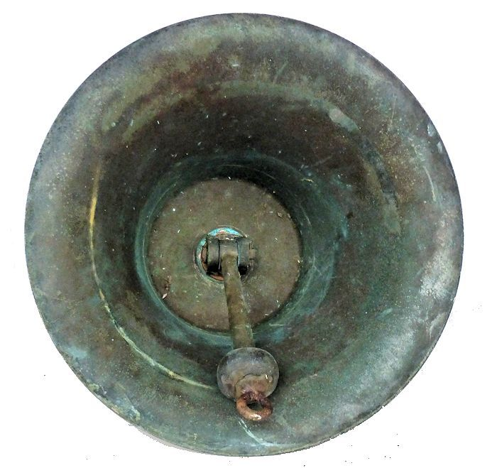 Inside of bell showing weld image