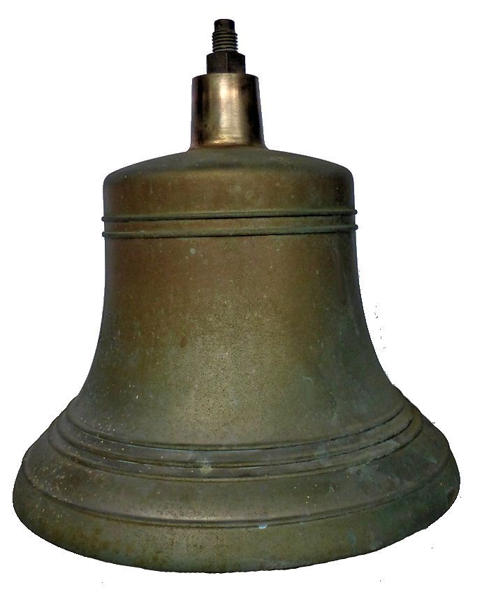 Right side of large Navy bell image