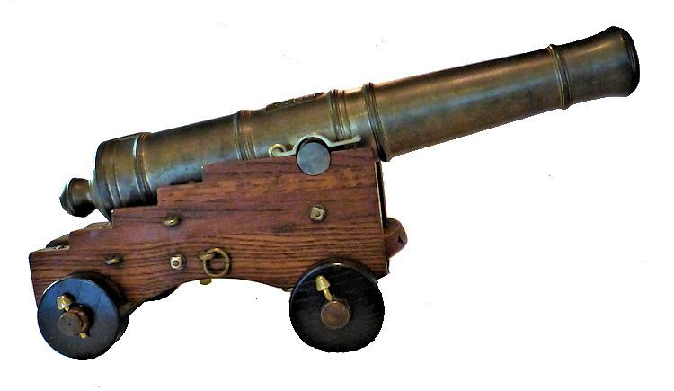 Right side of cannon image