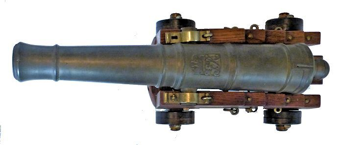 Overhead view of cannon image