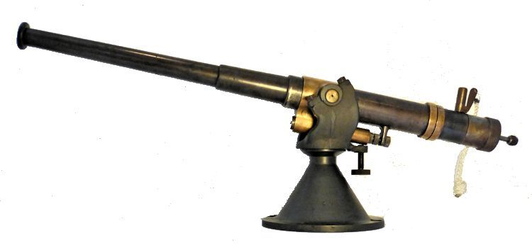 Iron breech loader deck cannon of WW I or earlier image