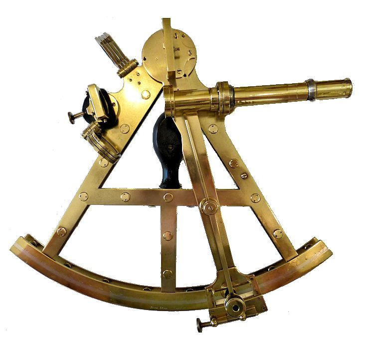Giant Troughton double frame pilar sextant image