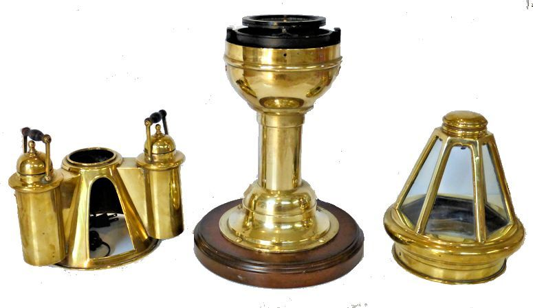 This  binnacle is comprise of four main pieces image
