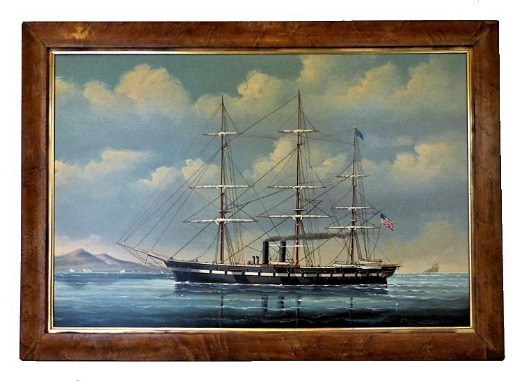 famed painting of American Sloop of War image