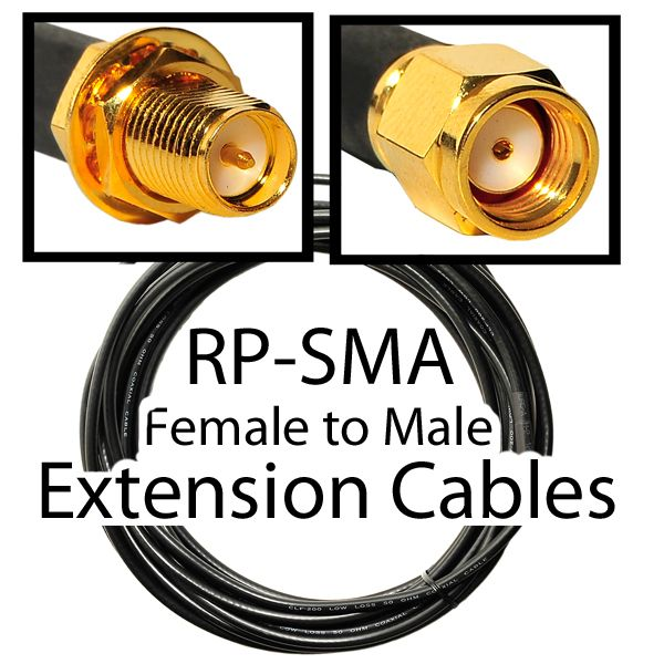 RPSMA Extension cables